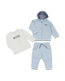 BOSS Baby Boys Blue J8256 Tracksuit Set