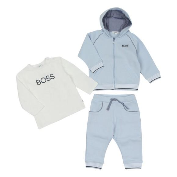 BOSS Baby Boys Blue J8256 Tracksuit Set main image