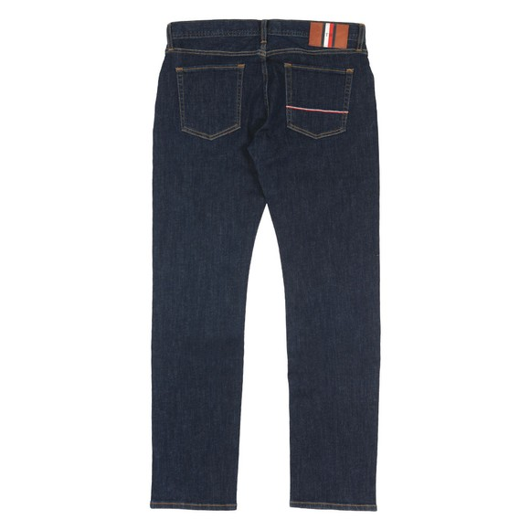 Tommy Hilfiger Mens Blue Denton Straight Jean