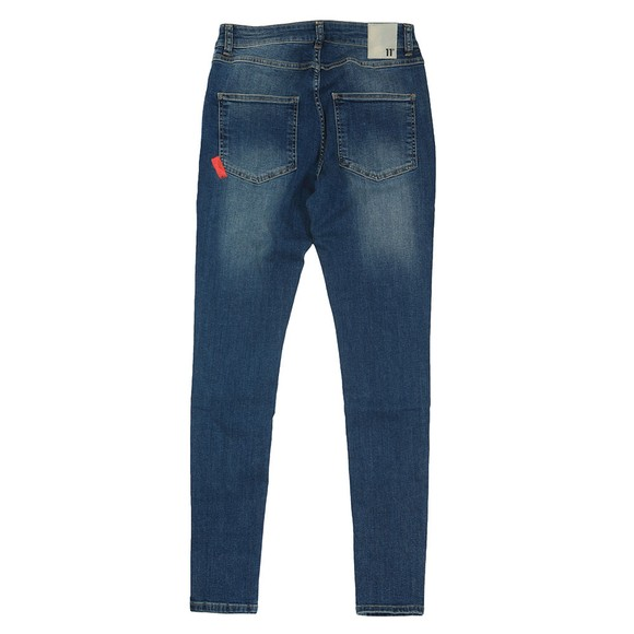 Eleven Degrees Mens Blue Super Stretch Skinny Jean main image