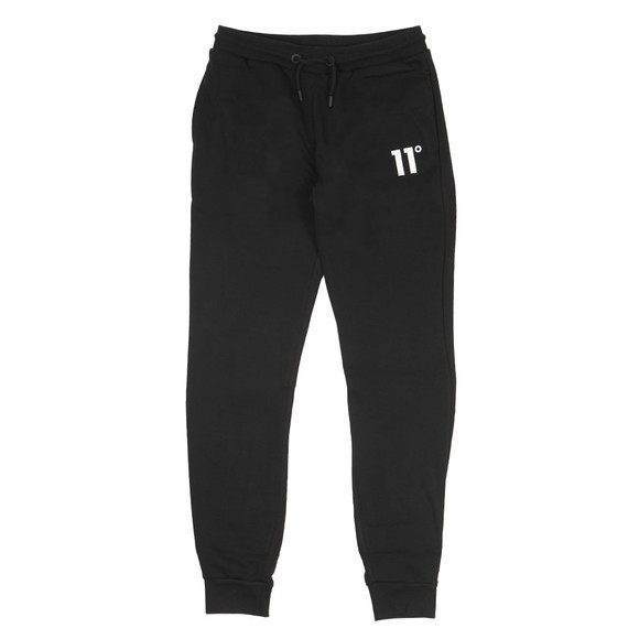 Eleven Degrees Mens Black Core Jogger