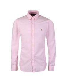 Polo Ralph Lauren Mens Pink Slim Fit Shirt