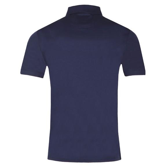 Lyle and Scott Mens Blue Mercerised Polo Shirt main image