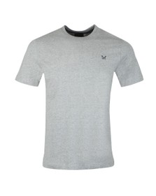 Crew Clothing Company Mens Grey Classic Tee