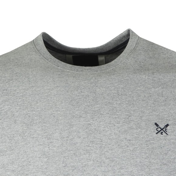Crew Clothing Company Mens Grey Classic T-Shirt main image
