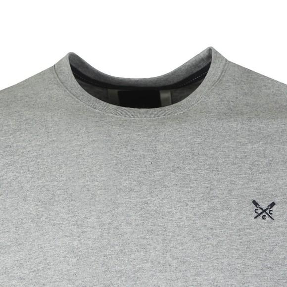 Crew Clothing Company Mens Grey Classic Tee main image