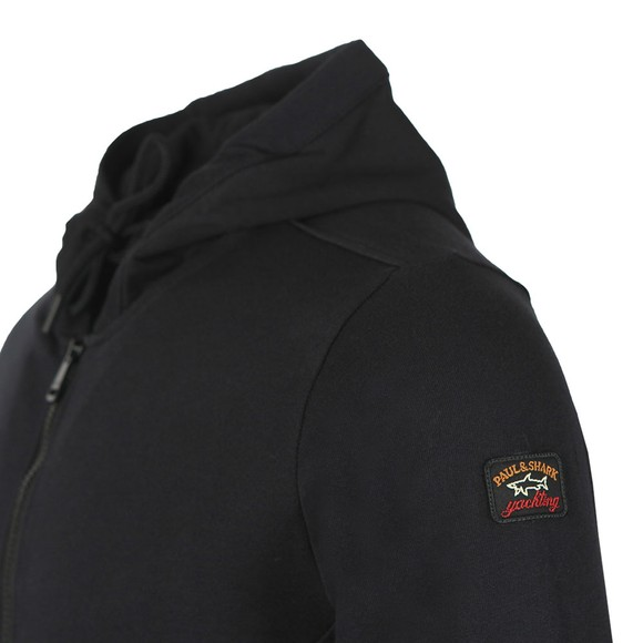 Paul & Shark Mens Black Full Zip Hoody