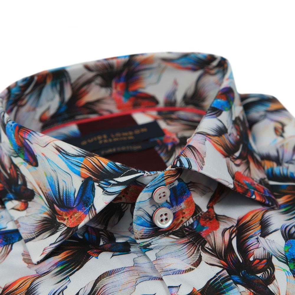 Exotic Fish Print Shirt main image