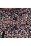 Guide London Mens Orange Floral Shirt