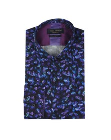 Guide London Mens Blue Jellyfish Shirt