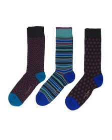 Ted Baker Mens Multicoloured 3 Pack Sock