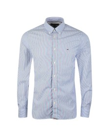 Tommy Hilfiger Mens Blue Soft Poplin Shirt