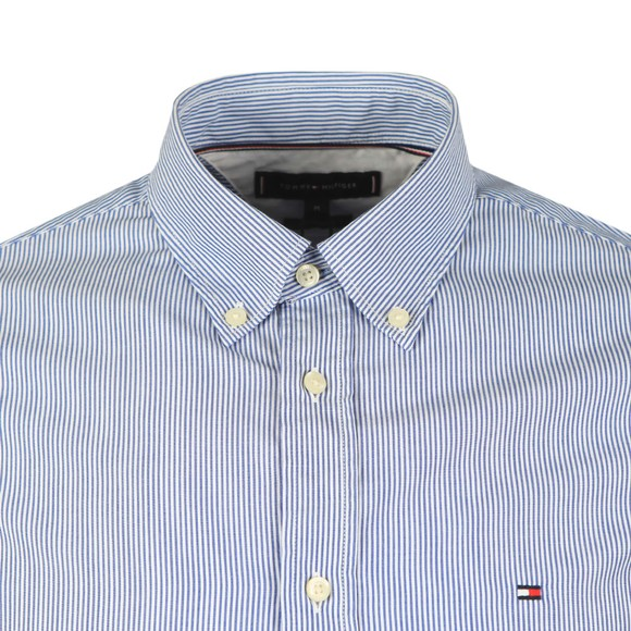 Tommy Hilfiger Mens Blue Soft Poplin Shirt main image