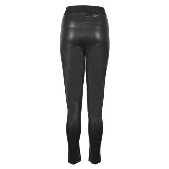 French Connection Womens Black Celina Faux Leather Legging main image