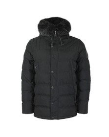 Kings Will Dream Mens Black Frost Parka Jacket