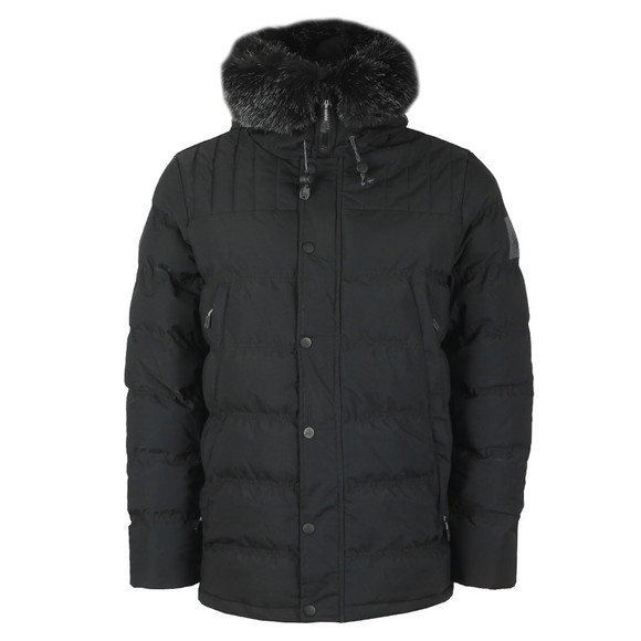 Kings Will Dream Mens Black Frost Parka Jacket main image