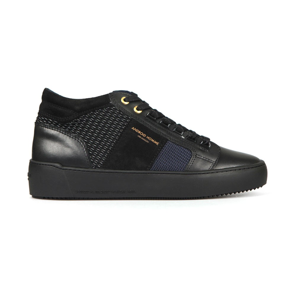 Propulsion Mid Gloss Woven Stretch Trainer main image