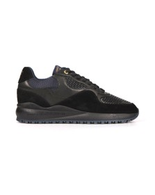 Android Homme Mens Black Santa Monica Stretch Woven Trainer