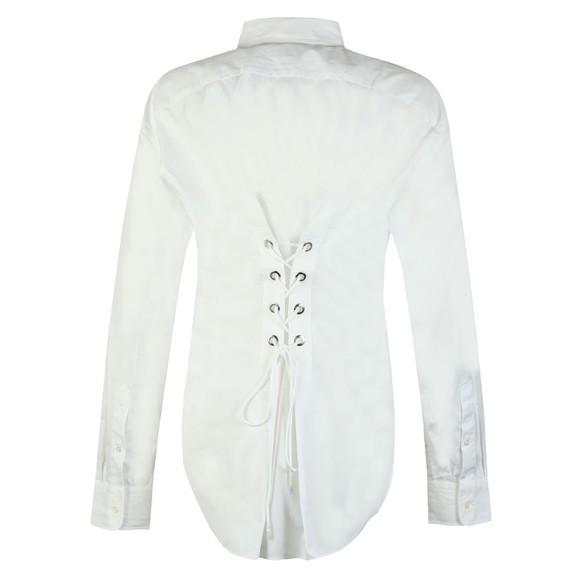 Polo Ralph Lauren Womens White Boyfriend Fit Shirt main image