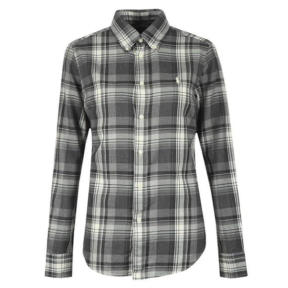Polo Ralph Lauren Womens Grey Georgia Shirt
