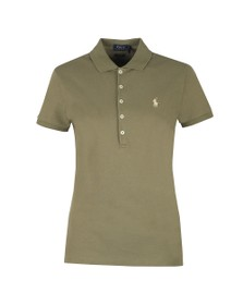 Polo Ralph Lauren Womens Green Julie Polo Shirt