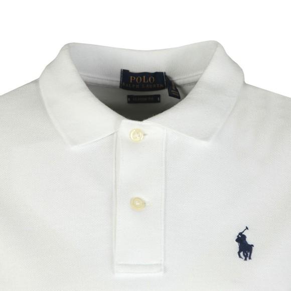 Polo Ralph Lauren Womens White Classic Flag Polo Shirt
