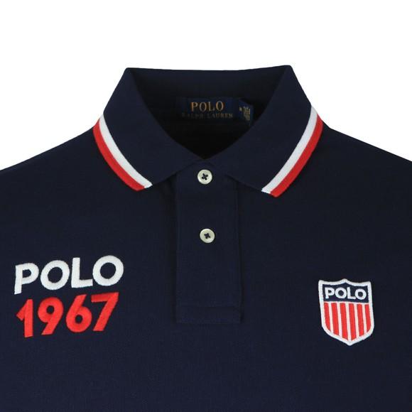 Polo Ralph Lauren Mens Blue Polo 1967 Polo Shirt
