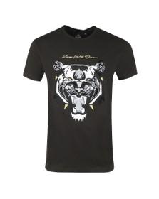 Kings Will Dream Mens Black Demon Velour T-Shirt