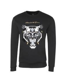 Kings Will Dream Mens Black Demon Velour Sweatshirt