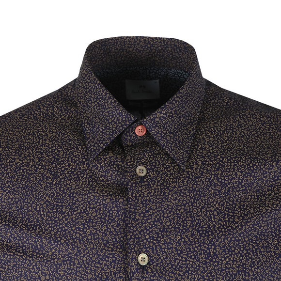 PS Paul Smith Mens Multicoloured Tailored Print Shirt