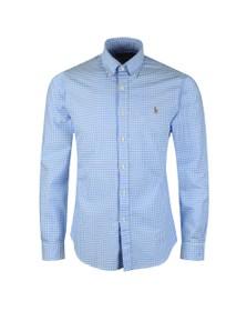 Polo Ralph Lauren Mens Blue Slim Fit Shirt