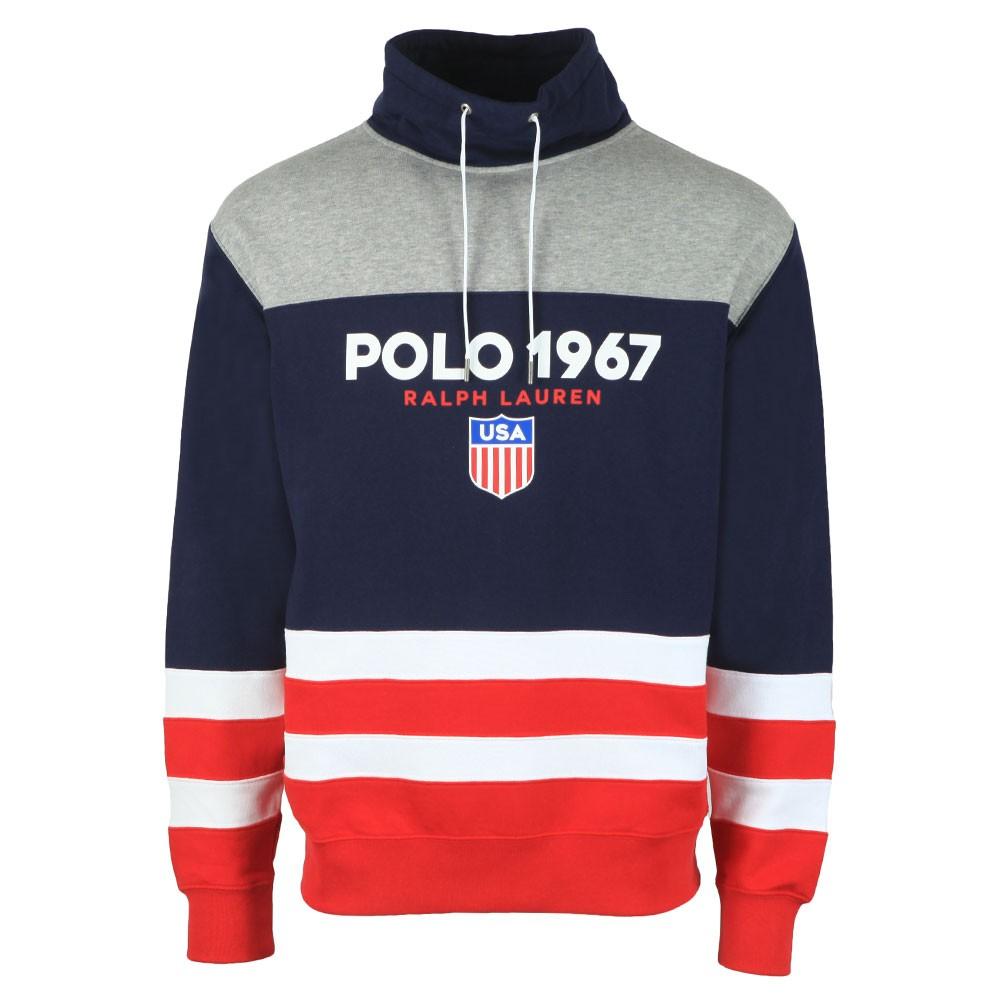 Polo 1967 Funnel Neck Sweatshirt main image