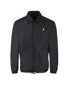 Polo Ralph Lauren Mens Black Coaches Jacket