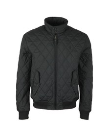 Polo Ralph Lauren Mens Black Quilted Bomber Jacket
