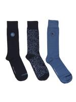 3 Pack Paisley Socks