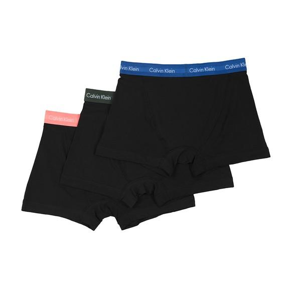 Calvin Klein Mens Pink 3 Pack Trunks