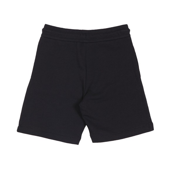 Emporio Armani Boys Blue Boys Outline Logo Jersey Short