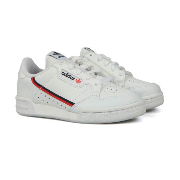 adidas Originals Boys White Childrens Continental 80's Trainer main image
