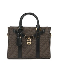 Michael Kors Womens Brown New Hamilton Satchel