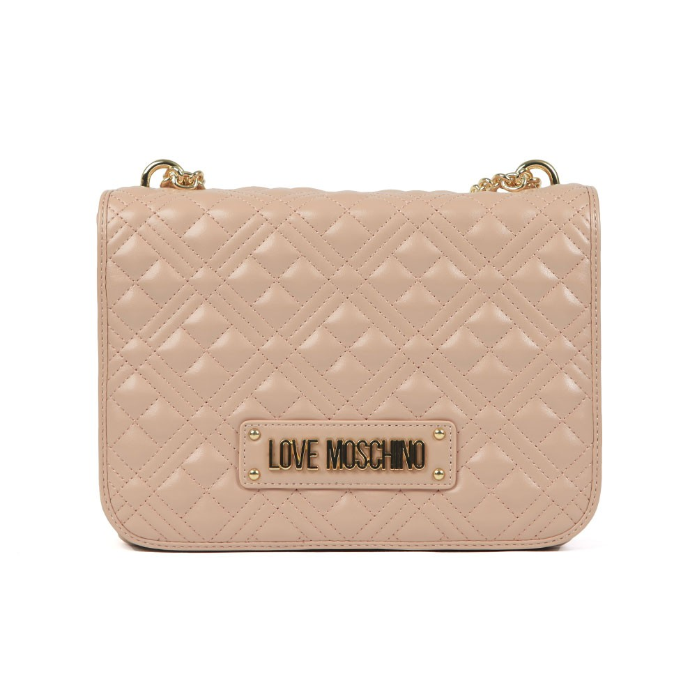 Cross Quilted Small Bag