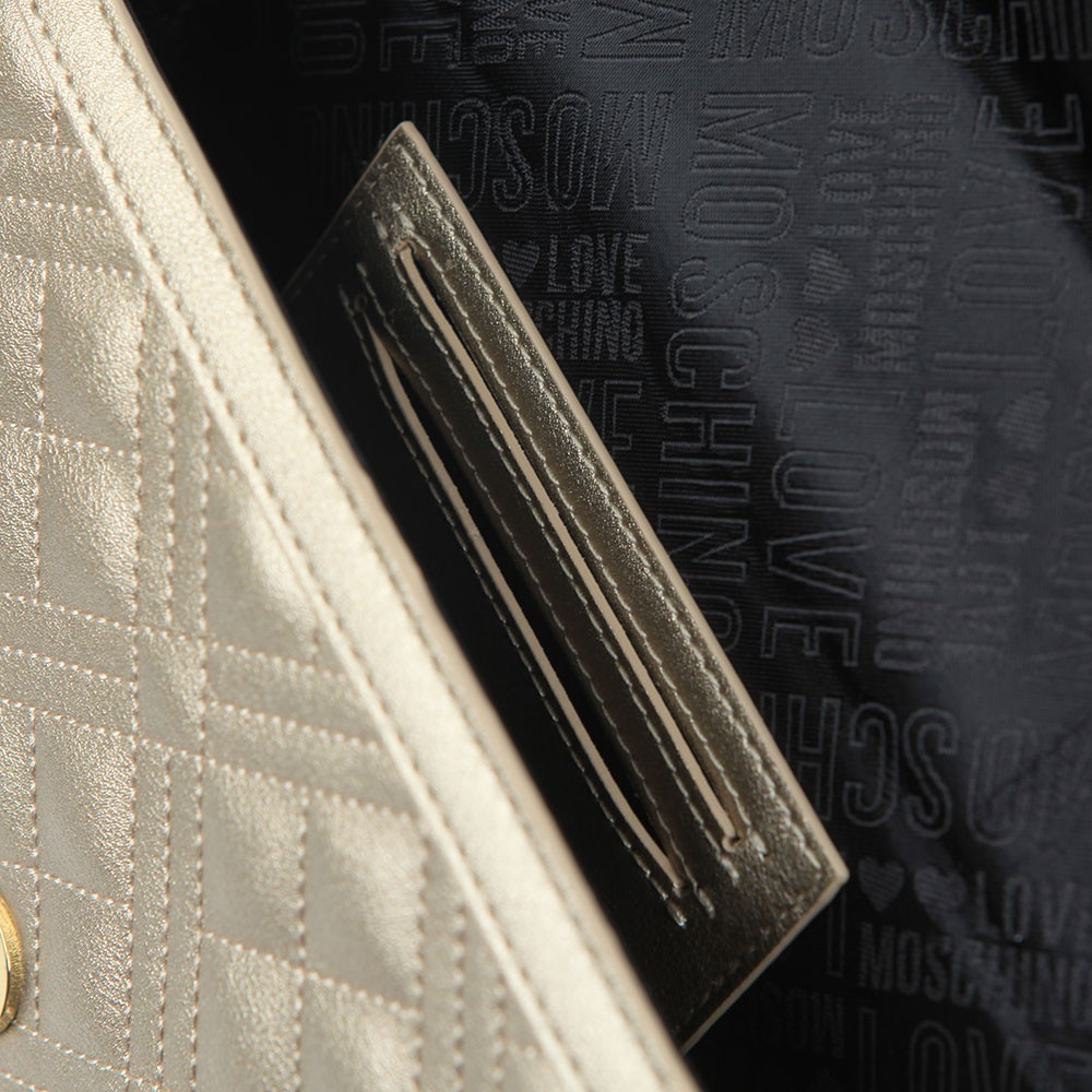 Cross Quilted Clutch bag main image