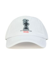 North Sails 36th Americas Cup presented by PRADA Mens White Baseball Cap
