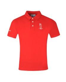 North Sails X Prada Mens Red Valencia Polo Shirt