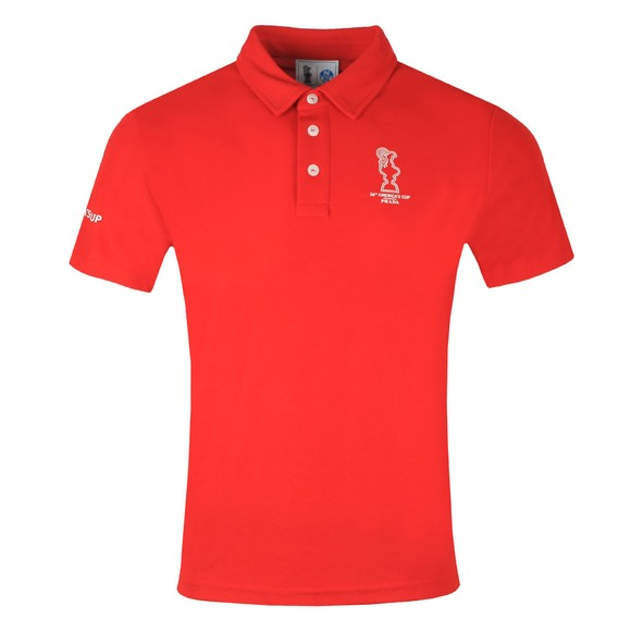 North Sails 36th Americas Cup presented by PRADA Mens Red Valencia Polo Shirt