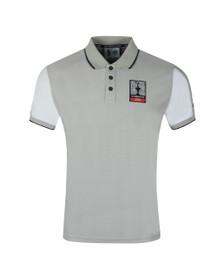 North Sails X Prada Mens Grey Auckland Polo Shirt