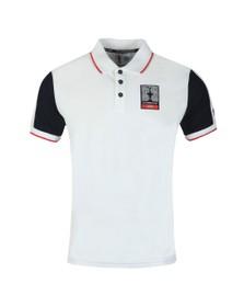 North Sails X Prada Mens White Auckland Polo Shirt