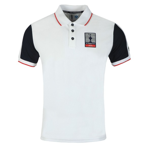 North Sails 36th Americas Cup presented by PRADA Mens White Auckland Polo Shirt