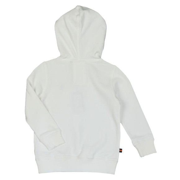 Luke Sport Boys White One Two One Two Hoody  main image