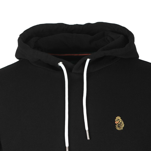 Luke Sport Mens Black One Two One Two Hoody main image