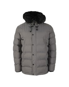 Kings Will Dream Mens Grey Frost Parka Jacket